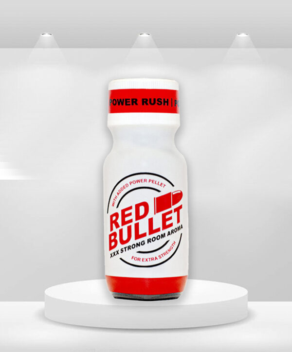 Red bullet poppers